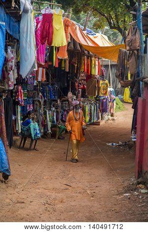Anjuna, Goa, India