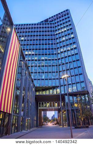 Modern Buildings In Barcelona