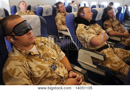 Sleeping soldiers