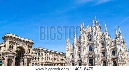 Piazza Duomo, Milan Hdr