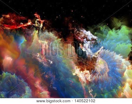 Virtual Space Nebula