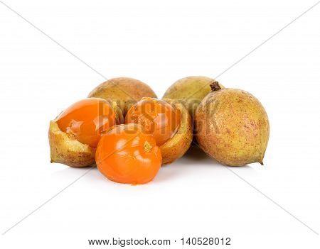 Schleichera Oleosa (lour.) Oken Fruit Isolated