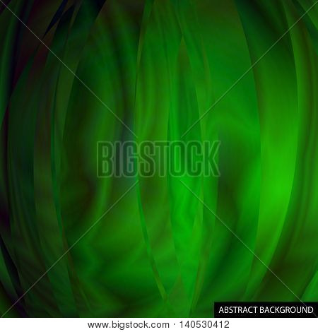 Unusual Abstract Background. The Iridescent Color. Waves. For Your Design