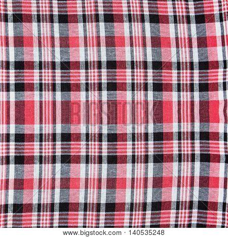 Background of handmade Thai style cloth texture Thailand.