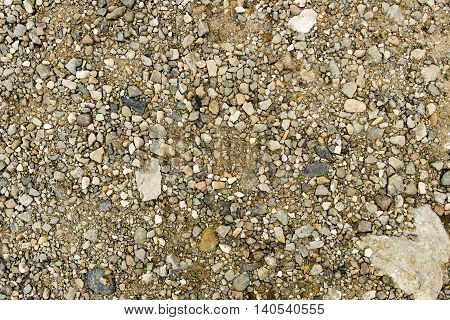 Texture of the soil, nature background, cracked ground texture, stony ground texture, excellent texture for use in your creative project, stony ground