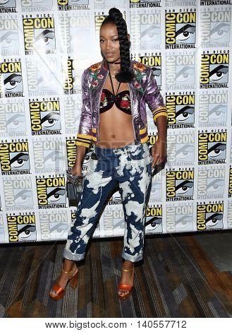 LOS ANGELES - JUL 22:  Keke Palmer arrives to the Comic Con 2016 -