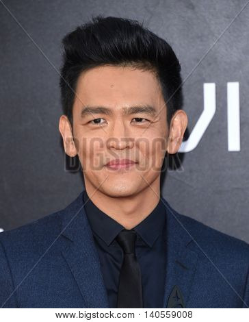 LOS ANGELES - JUL 20:  John Cho arrives to the