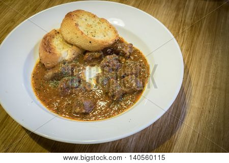 beef goulash slow cooker Home made food