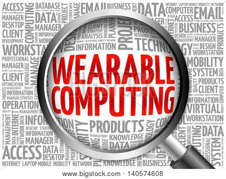 Wearable Computing Word Cloud