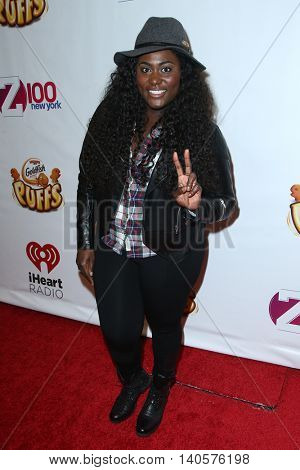NEW YORK-DEC 12: Actress Danielle Brooks attends Z100's Jingle Ball 2014 at Madison Square Garden on December 12, 2014 in New York City.