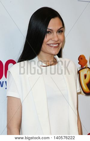 NEW YORK-DEC 12: Singer Jessie J attends Z100's Jingle Ball 2014 at Madison Square Garden on December 12, 2014 in New York City.