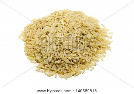 Rice is the seed of the grass species Oryza sativa (Asian rice) or Oryza glaberrima (African rice)