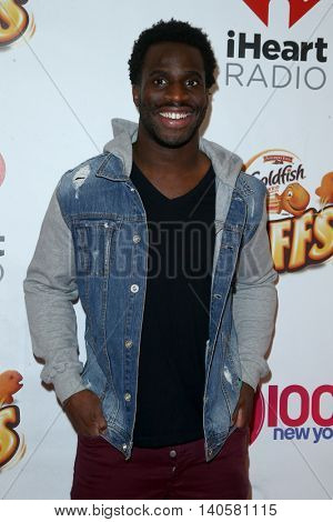 NEW YORK-DEC 12: Professional football player Prince Amukamara attends Z100's Jingle Ball 2014 at Madison Square Garden on December 12, 2014 in New York City.