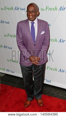 NEW YORK-MAY 29: Al Roker attends the Fresh Air Fund Spring Gala Salute at Pier Sixty at Chelsea Piers on May 29, 2014 in New York City.