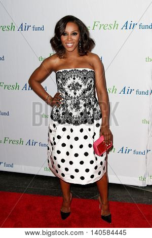 NEW YORK-MAY 29: June Ambrose attends the Fresh Air Fund Spring Gala Salute at Pier Sixty at Chelsea Piers on May 29, 2014 in New York City.
