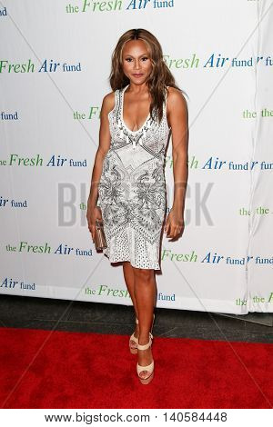 NEW YORK-MAY 29: Recording artist Deborah Cox attends the Fresh Air Fund Spring Gala Salute at Pier Sixty at Chelsea Piers on May 29, 2014 in New York City.