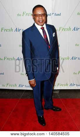 NEW YORK-MAY 29: Producer Stephen Byrd attends the Fresh Air Fund Spring Gala Salute at Pier Sixty at Chelsea Piers on May 29, 2014 in New York City.