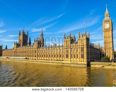 Houses Of Parliament Hdr