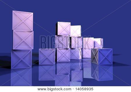 Blue Iron Boxes