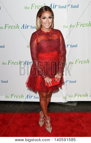 NEW YORK-MAY 29: Singer Adrienne Bailon attends the Fresh Air Fund Spring Gala Salute at Pier Sixty at Chelsea Piers on May 29, 2014 in New York City.