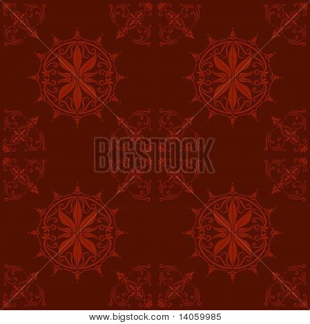 maroon wallpaper or cloth pattern