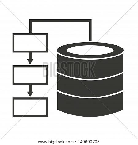 data diagram infographic icon vector isolated graphic