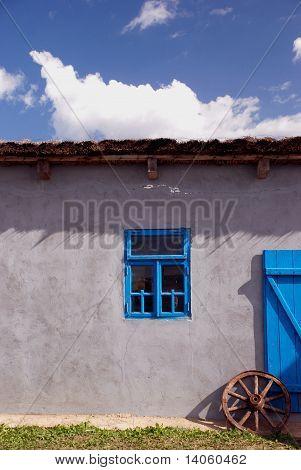 ethnographical moldavian house