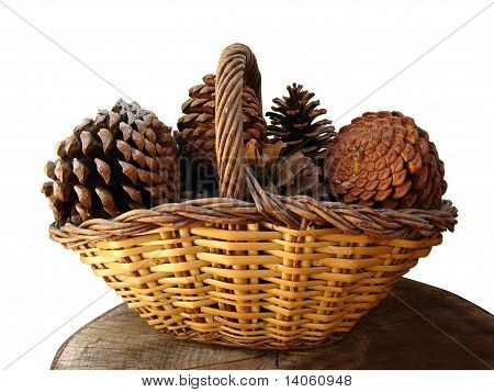 Pineapples Basket