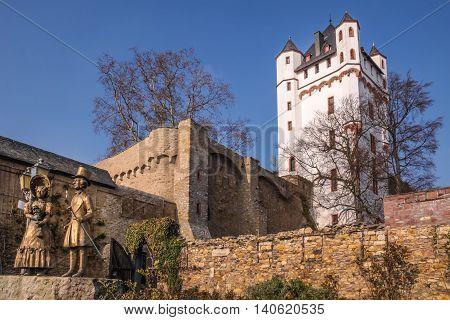 Electoral Castle of Eltville Rheingau Hesse Germany