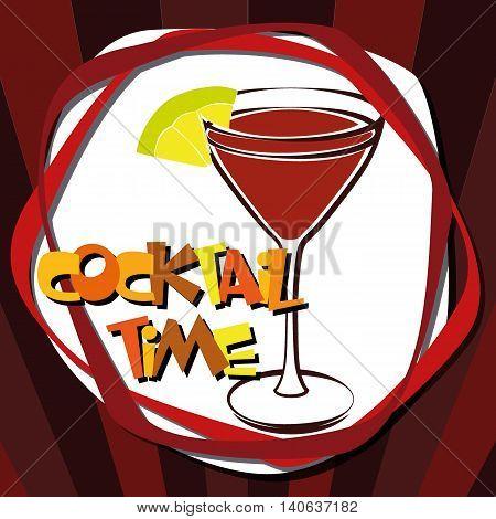 Illustration Nightlife Drinks