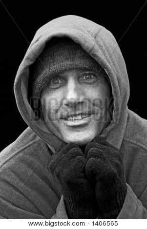 Man In The Hooded Sweatshirt