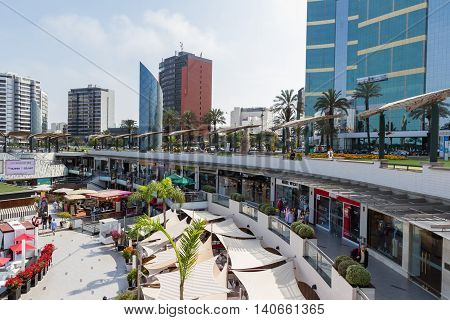 Larcomar, Shopping Centre In Lima