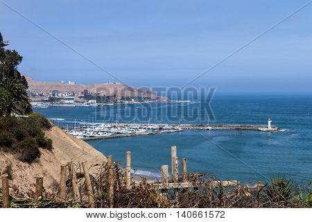 Barranco Marina, Lima, Peru