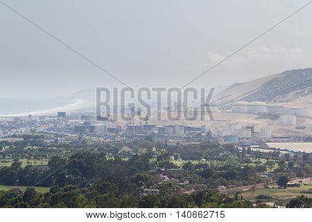 Oil Refinery In Peru