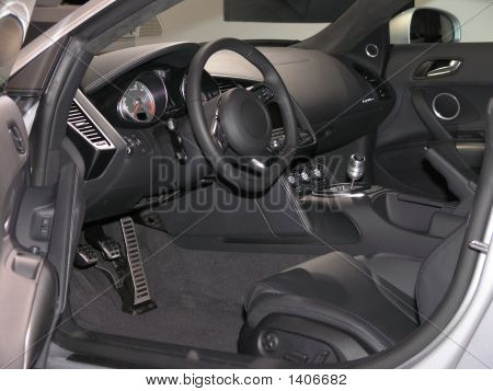 Luxury Sports Car Interior 1