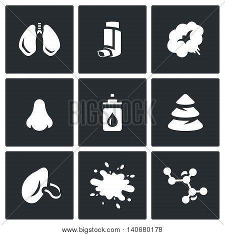 Bronchi, Smoke, Inhaler, Nose, Drops, Needles, Respiratory, Sputum, Bacteria