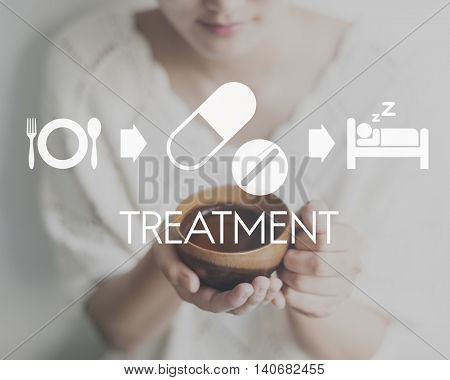 Treatment Medical Health Wellbeing Proper Care Concept