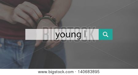 Young Adult Youth Culture Teen Generation Concept