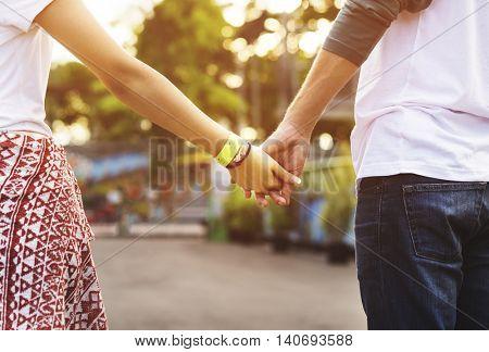 Amusement Park Funfair Festive Happiness Togetherness Concept