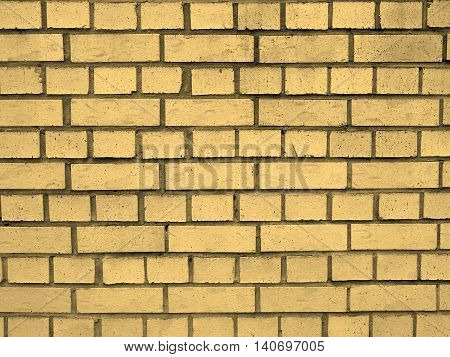 White Bricks Sepia