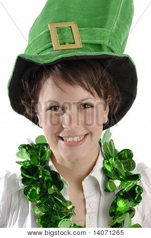 Pretty Woman On St. Patrick's Day