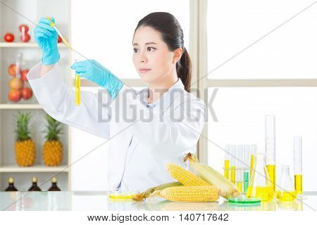 Plant Biology Research For Genetic Modification Food Gmo