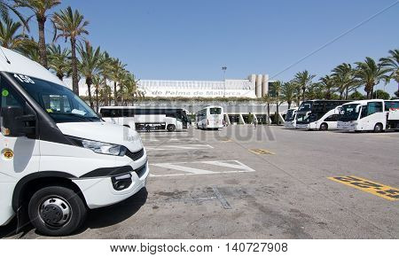 Palma De Mallorca Airport In July