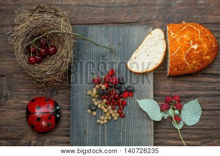 Bread And Wild Berries