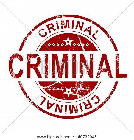 Criminal Stamp