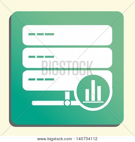 Server Stats Icon In Vector Format. Premium Quality Server Stats Symbol. Web Graphic Server Stats Si