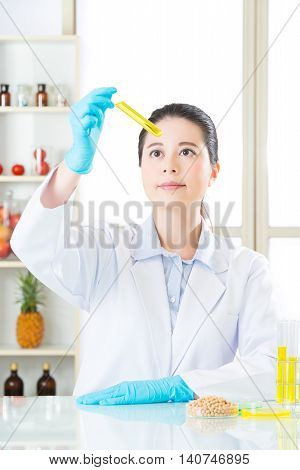 Soya Biology Research From Asian Female Scientist
