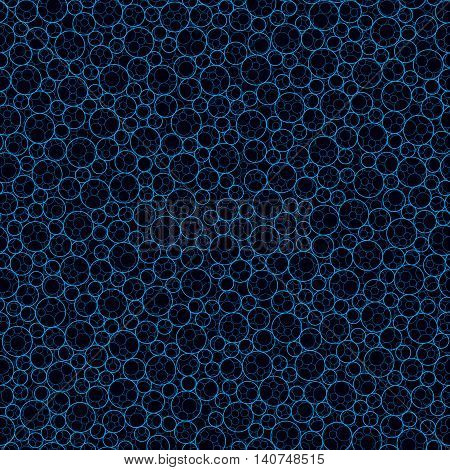 seamless abstract artistic circular vector pattern background