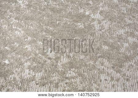 Closeup sand texture background. Wet Sands Texture.