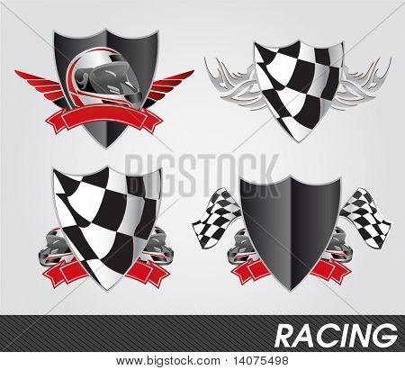 racing signs